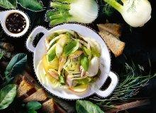 Sałatka z wędzoną makrelą - ugotuj