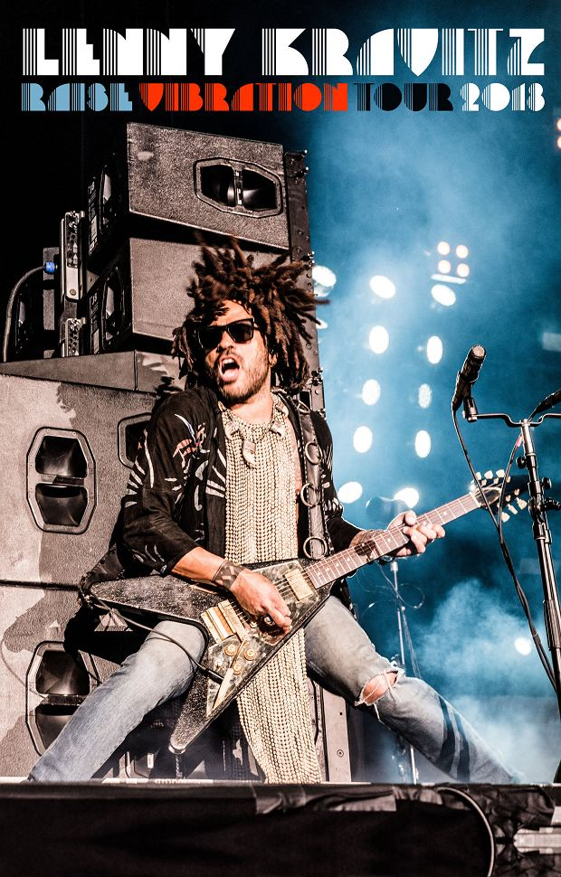 Lenny Kravitz 'Raise Vibration Tour 2018