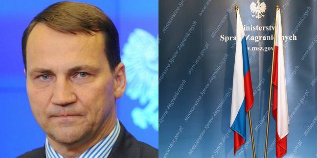 Radosław Sikorski poinformował, że nie będzie Roku Rosji w Polsce