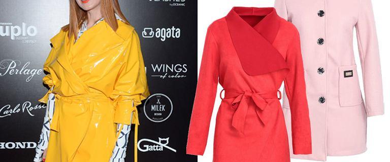 Najpiękniejsze kolorowe płaszcze z nowych kolekcji. Fuksjowe modele to hit jesieni!