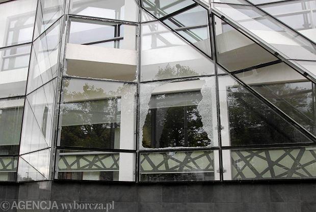ZUT pęka. Nowy budynek nanotechnologii bez siedmiu szyb