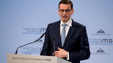 17.02.2018, premier Mateusz Morawiecki na Konferencji Bezpieczeństwa w Monachium.