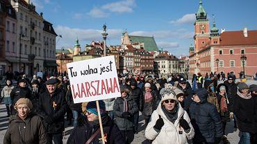Marsz 'Tu Wolna Jest Warszawa'