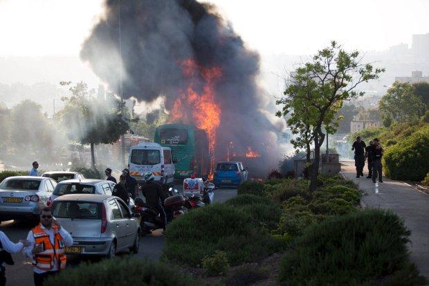 Zamach w Jerozolimie przeprowadzony przez cz�onka Hamasu