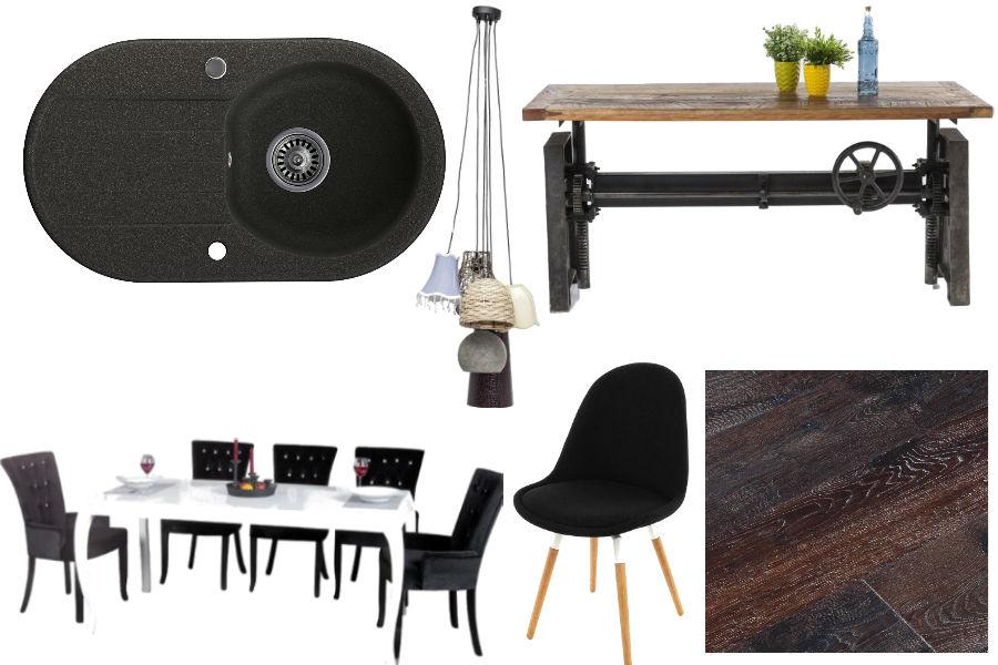 dodatki, mieszkanie, wnętrza, kuchnia