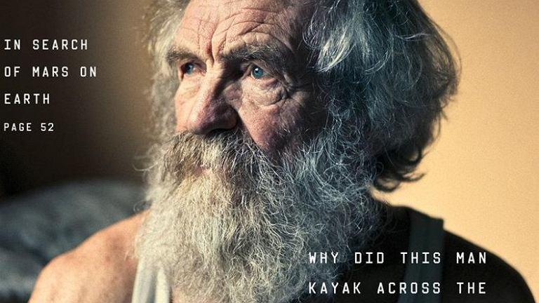 Aleksander Doba na okładce NYT Magazine