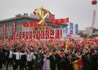 """Kim Dzong Un """"awansował"""" w Partii Pracy. Setki tysięcy Koreańczyków wiwatowały przed nim w wielkiej paradzie"""