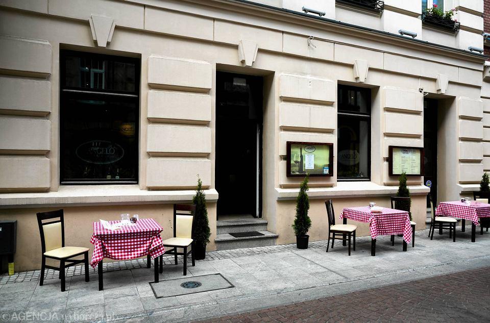 Restauracja Angelo Włoska Kuchnia Przy Woonerfie Zdjęcia