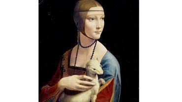 'Dama z gronostajem' pędzla Leonarda da Vinci