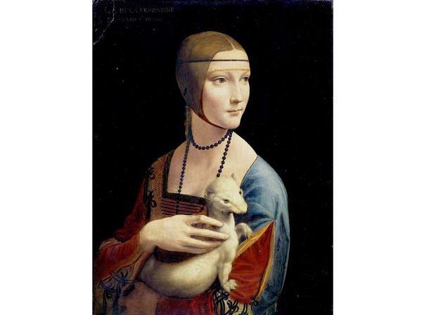 """""""Dama z gronostajem"""" to jeden z 15 zachowanych obrazów Leonarda da Vinci. Co jeszcze namalował ten geniusz?"""