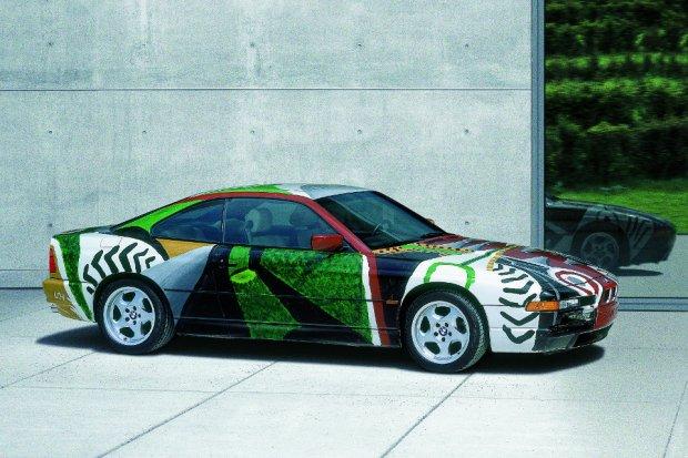 BMW Art Car 850CSi - David Hockney