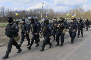 Ukrai�skie MON: Milicjanci wydali ukrai�skich �o�nierzy w r�ce prorosyjskich separatyst�w