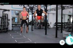 Gym Break: 8 ćwiczeń w formie tabata