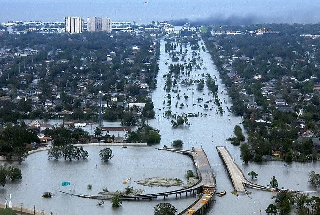 Nowy Orlean po przejściu Katrin