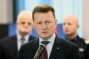 Minister Błaszczak w Krakowie z obietnicą podwyżek