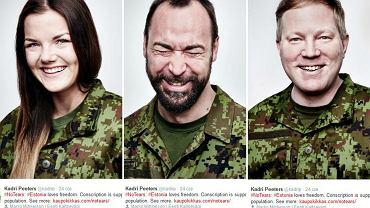 Estońska odpowiedź na zdjęcia płaczących poborowych