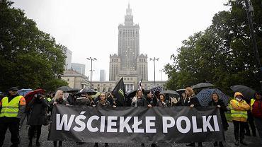Ogólnopolski protest kobiet