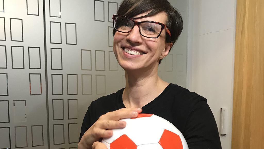 Anna Wacławik - Orpik z piłką nożną