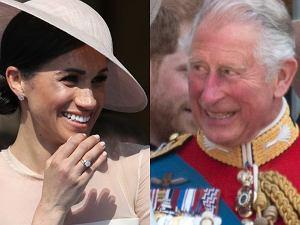 Księżna Meghan i książę Karol