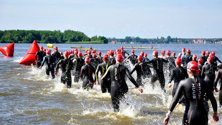 Open water - triathlon, wyścigi