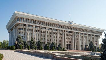 Siedziba parlamentu Kirgistanu w stolicy kraju Biszkeku