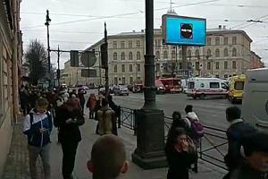 Wybuchy w metrze w Sankt Petersburgu. 10 osób nie żyje, przybywa rannych
