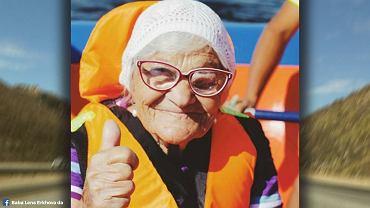 Baba Lena 90-letnia podróżniczka.