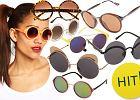Trend alarm: okr�g�e okulary przeciws�oneczne - ponad 70 propozycji