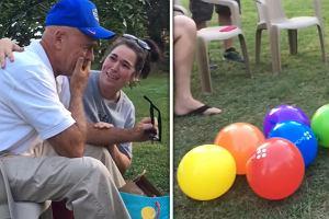 Urodzinowy prezent sprawił, że płakał jak dziecko. Dzięki niemu po raz pierwszy w życiu zobaczył świat w kolorach [WIDEO]