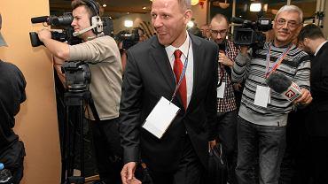 Jacek Protasiewicz podczas zjazdu Dolnośląskiej Platformy Obywatelskiej