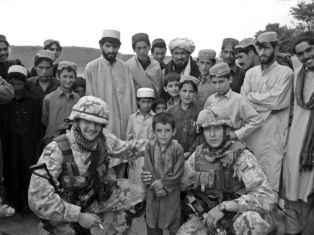 Polscy żołnierze w Afganistanie (mat.prasowe)