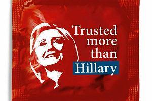 Napalona Hillary do nadmuchania w nagrodę