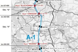Autostrada A1 Pyrzowice - Częstochowa coraz bliżej. Ogłosili przetarg na budowę!