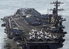 Niszczyciele, okręt atomowy, bombowce i czołgi. USA demonstrują Korei swoją potęgę