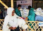600 tys. osób koczuje w jednym obozie. Polka pomagała uchodźcom w Bangladeszu