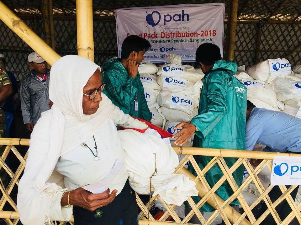 Polska Akcja Humanitarna zapewnia pomoc Rohindżom w Bangladeszu