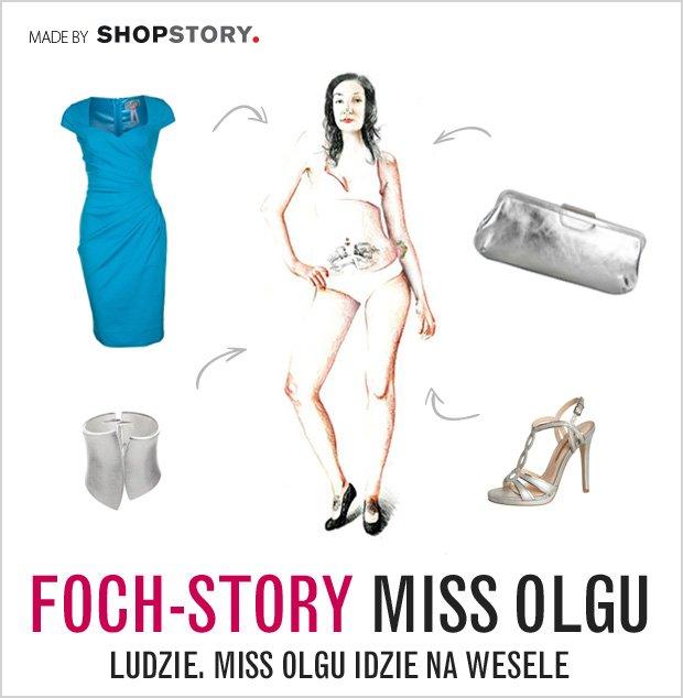 Miss Olgu Foch-Story: w czym na �lub i wesele?
