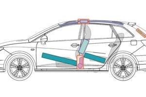 Samochody grupy Volkswagena z kartami ratowniczymi