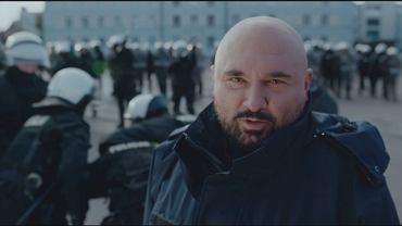 Patryk Vega i jego aktorzy promują służbę w Komendzie Stołecznej Policji