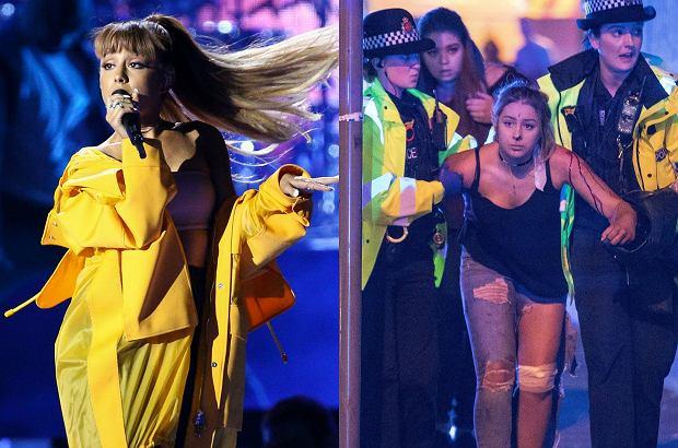 """W wybuchu do którego doszło podczas koncertu Ariany Grande w Manchesterze zginęło 19 osób ponad 50 jest ciężko rannych. Po tragicznym wypadku Ariana Grande pisze, że jest """"rozbita"""" i zawiesza trasę koncertowej."""
