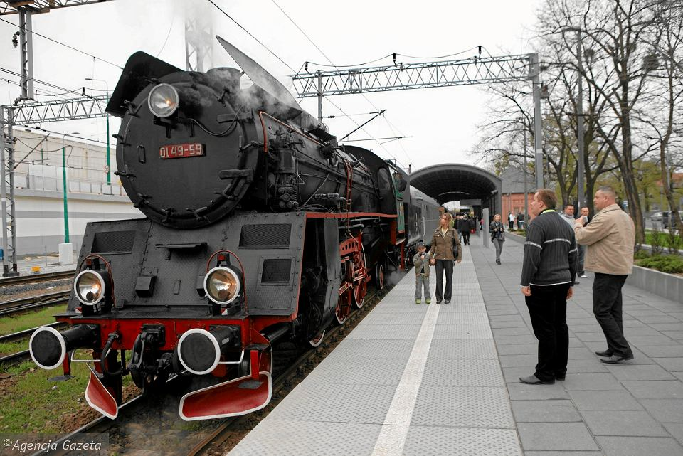 Parowozy z Wolsztyna