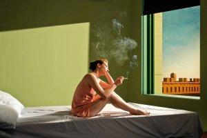 """Edward Hopper. Zaw�d: re�yser. Od dzi� w kinach film """"Shirley - wizje rzeczywisto�ci"""""""