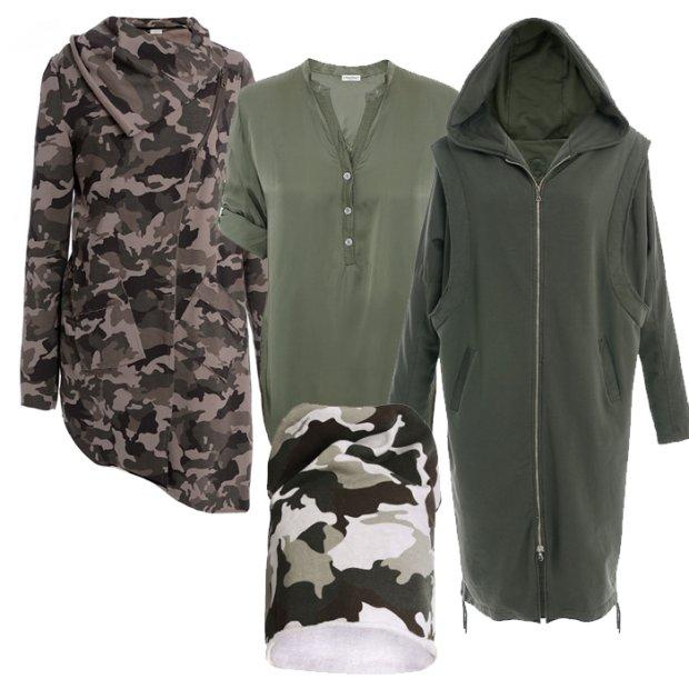 Militarny trend w nowej kolekcji Unisono