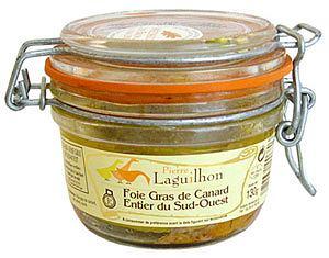 Kuchnia: Fois Gras. Niezły pasztet, kuchnie świata, kuchnia, PIERRE LAGUILHON Foie Gras z kaczki 130g. Cena: 91 zł