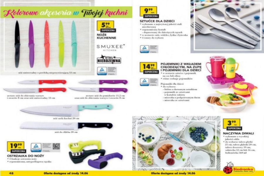 Kolorowe Akcesoria Do Kuchni Od Biedronki