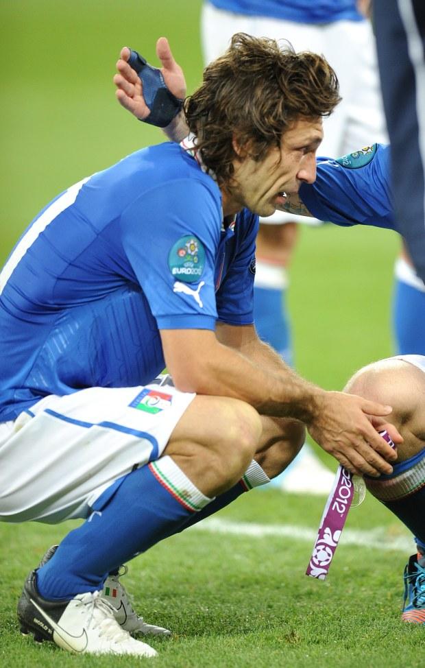 Euro 2012, finał, Włosi
