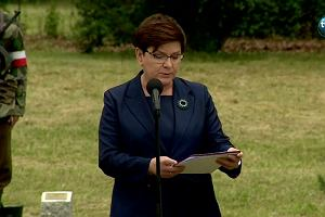 """""""Auschwitz jest lekcją tego, że trzeba robić wszystko, by chronić życie swoich obywateli"""". Fala krytyki po przemówieniu B. Szydło"""