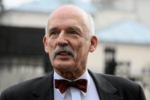 Janusz Korwin-Mikke: Gdyby na ulic� wyszli bryd�y�ci, te� nale�a�oby do nich strzela�. Jak do g�rnik�w
