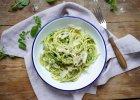 Jedzenie na czasie: spaghetti z pesto z rukwi
