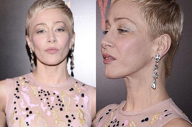 Katarzyna Warnke obcięła włosy. Bardzo krótką fryzurę zaprezentowała na wtorkowej premierze filmu 'Kobiety mafii'.